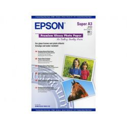 20 feuilles de papier photo brillant Epson A3+  (255 gr)