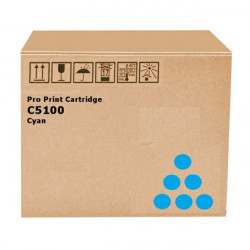 Toner Cyan Ricoh pour Ricoh Pro C 5100/ C 5100S/ C5110/ C5110S (828405)