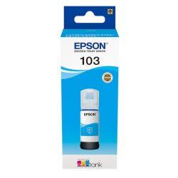 Cartouche Cyan Epson pour EcoTank L3151.. (N°103)