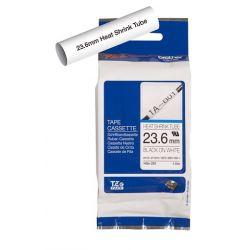 Cartouche à ruban pour gaine thermorétractable Brother HSe-251 – Noir sur blanc, 23,6 mm