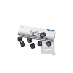 6 Batonnets d'encre solide Noir pour Xerox Phaser 8500/8550