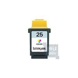 Cartouche couleur longue durée haute résolution N°25 LEXMARK