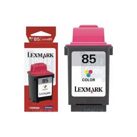 Cartouche couleur longue durée N°85 LEXMARK (12A1985)