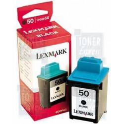 Cartouche noire haute résolution LEXMARK Z12/Z22... (N°50)