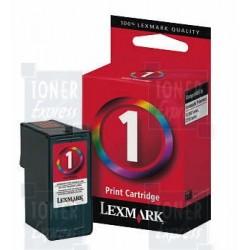 Cartouche Lexmark n° 1 Couleur Multi-tâches haute résolution (018CX781E)