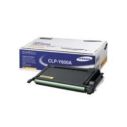 Toner jaune pour Samsung CLP-600(N) et CLP-650(N)