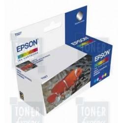 Double pack cartouche Encre Couleur EPSON (T027)