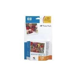 Pack photo HP 343 + papier photo 10*15 100 feuilles