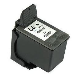 Cartouche noire générique pour HP Deskjet 450/5550 Photosmart...(N°56)