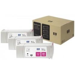 Multipack cartouches teintées magenta HP pour Designjet 5000 (N°81)