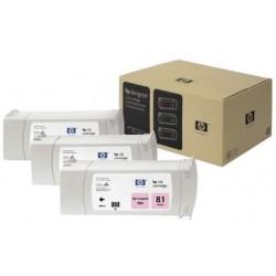 Multipack cartouches teintées magenta clair HP pour Designjet 5000 (N°81)