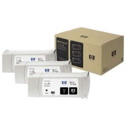 Multipack de cartouche d'encre UV noir HP pour Designjet 5000 (N°83)