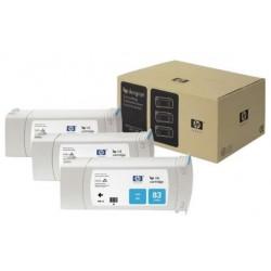 Multipack de cartouche d'encre UV cyan HP pour Designjet 5000 (N°83)