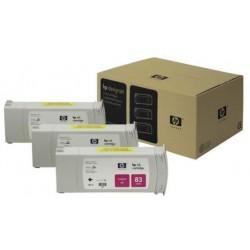 Multipack de cartouche d'encre UV magenta HP pour Designjet 5000 (N°83)
