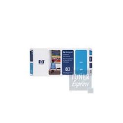 Tête d impression + Kit Nettoyage Encre UV Cyan HP pour Designjet 5000 ... (N°83)