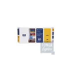 Tête d impression + Kit Nettoyage Encre UV Jaune HP  pour Designjet 5000 ... (N°83)