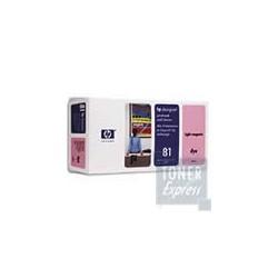 Value Pack teinté (Tête + Encre Magenta Clair) HP N°81 (C4995)