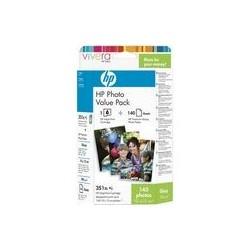 Cartouche d'encre couleur HP N°351 + 140 feuilles