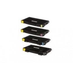Kit éco de 4 Toners génériques pour Samsung CLP 510