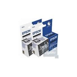 Double Pack Cartouche Encre Noire (2xC13T013401) EPSON