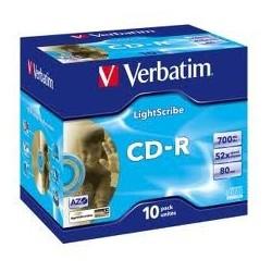 CD-R JEWELCASE (x10)