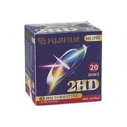 Disquette Fuji 46643 3.5 MF 2HD DOS P10 BLUE