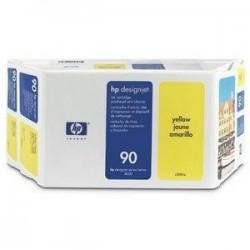 Value pack jaune HP90 – tête d'impression et cartouche pour designjet 4000