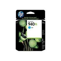 Cartouche cyan HP pour officeJet Pro 8000 / 8500 (N°940XL)