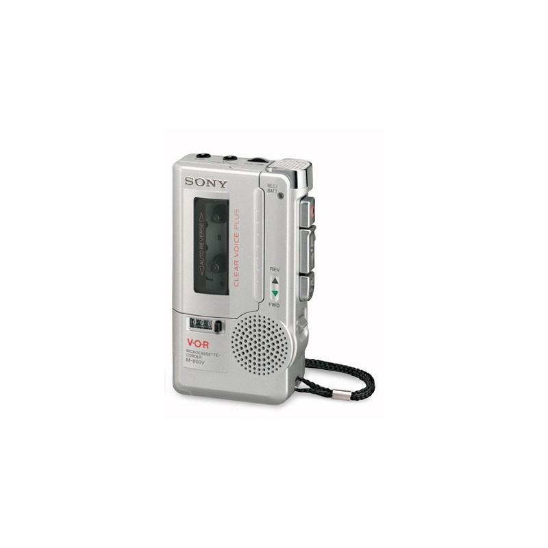 dictaphone vocal analogique sony portable m 800v ce7 en promotion. Black Bedroom Furniture Sets. Home Design Ideas