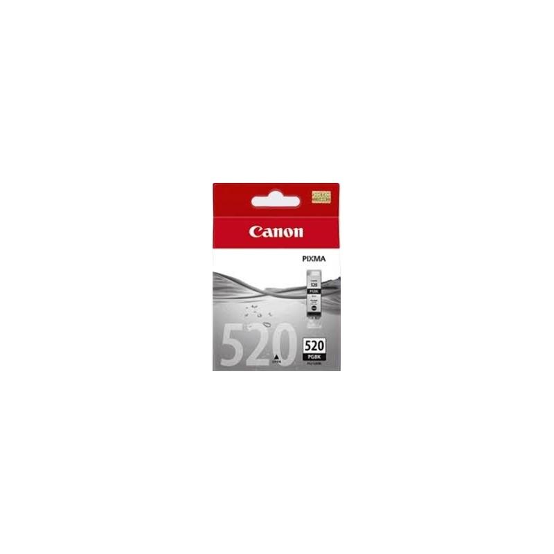 cartouche d 39 encre noire canon pour pixma ip3600 mp540 pgi 520bk. Black Bedroom Furniture Sets. Home Design Ideas