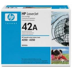 Toner HP pour LaserJet 4250/4350 (42A)