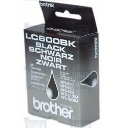 Cartouche d'encre Brother LC600BK Noire