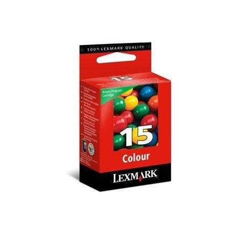 Cartouche couleur N°15 Lexmark pour Z2320 / X2650...