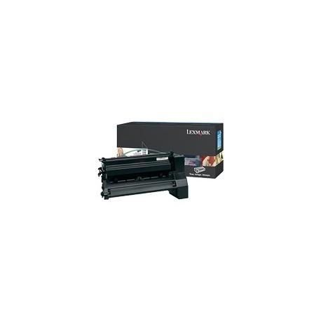 Toner noir Lexmark pour C780 / C782 / X782e