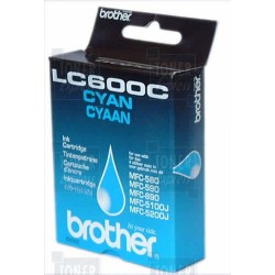 Cartouche d'encre Brother LC600C Cyan