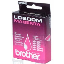 Cartouche d'encre Brother LC600M Magenta
