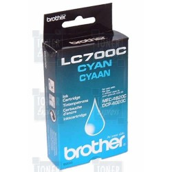 Cartouche d'encre Brother LC700C Cyan