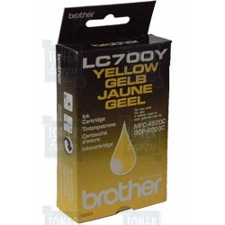 Cartouche d'encre Brother LC700Y Jaune