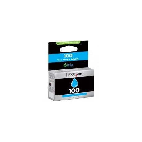 Cartouche cyan Lexmark N°100 pour Platinum Pro905 / Presige Pro805...