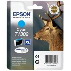 Cartouche cyan XL Epson pour stylus BX305F /  SX525WD ...(T1302)