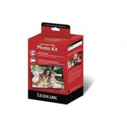 Cartouche d'encre photo+100f papier photo Lexmark pour imprimante P350 / X9350