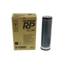 2 * Cartouche d'encre noire Riso pour RP3700 / RP3790 (S-4386) (S-3380E)