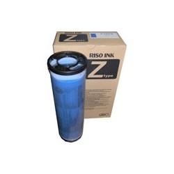 Pack 2 * Cartouche d'encre bleu Riso pour GR3770