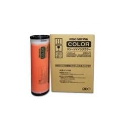 5 x 2 * Cartouche d'encre orange Riso pour GR3770