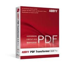 EDU ABBYY PDF TRANSFORMER 3 PRO EDUC/GVT