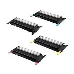Pack de 4 toners génériques pour Samsung clp 310 / CLP 315 / CLX 3170...