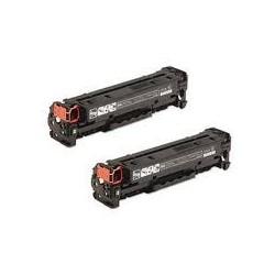 2 Toners noirs génériques haute qualité pour HP laserjet CP2020/CP2025/CM2320MPF (304A)