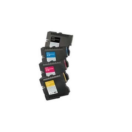 Pack de 4 Cartouches Ricoh pour Aficio GX3000 / GX3050N (GC-21)