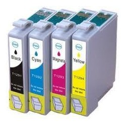 Pack de 5 cartouches génériques pour Epson stylus BX305F / BX320FW / SX420W...