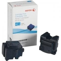 2 * Stick cyan Xerox pour colorqube 8570 / 8580 / 8870